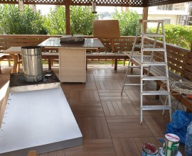 Repair, cleaning and preventive maintenance of hoods in barbecue areas